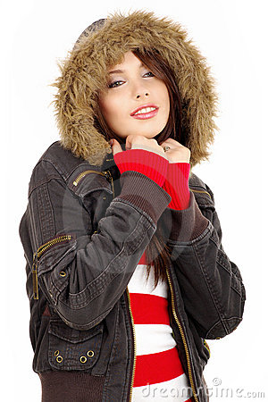 Free Winter Girl Stock Photo - 7628790