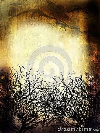 Winter Grunge Background
