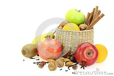 Winter healthy food