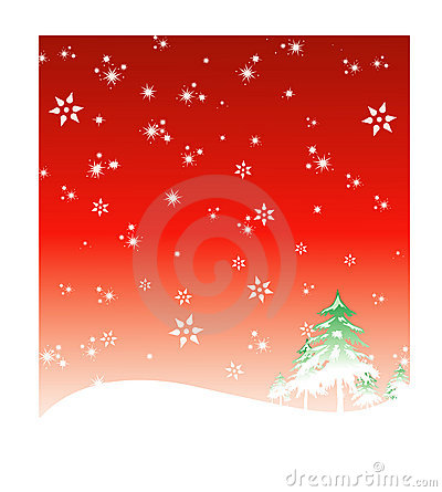 Winter Holiday background 2