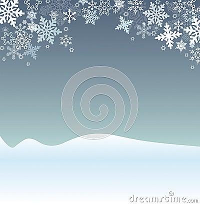 Winter Holiday Scene