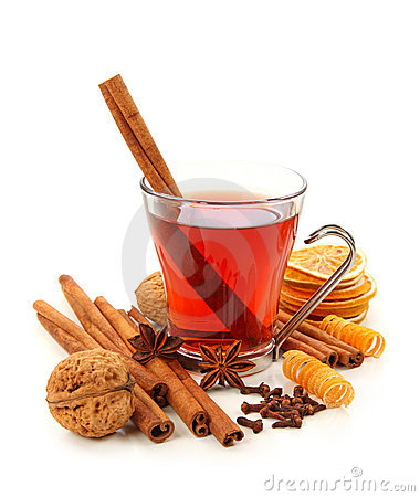 Free Winter Hot Drink With Spices Stock Photos - 11612443