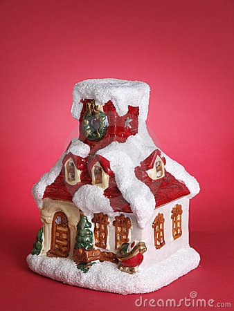 Winter house souvenir