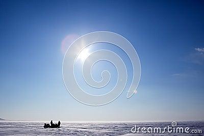 Winter Ice Landscape