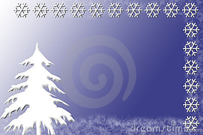 Winter Invitation or Card Template