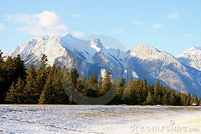 Jasper Canada on Winter In Jasper  Canada Royalty Free Stock Image   Image  11306346