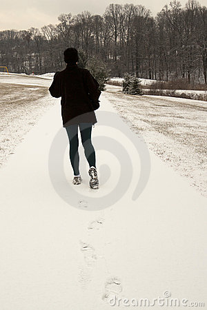 Winter Jogger rear view
