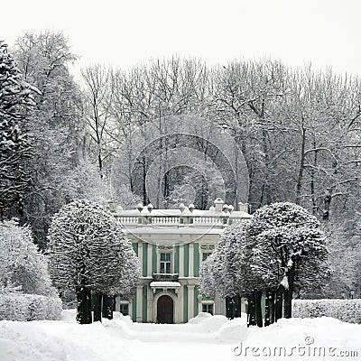 Winter in Kuskovo