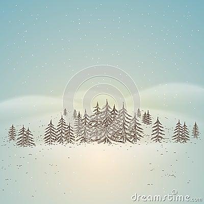 Free Winter Landscape Stock Photos - 17433803