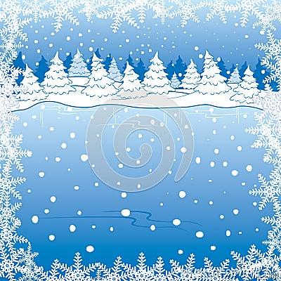 Free Winter Landscape Royalty Free Stock Photo - 3426385