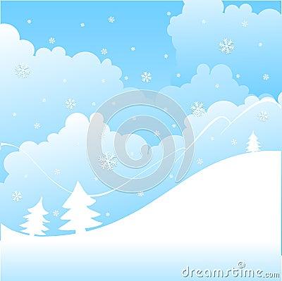 Free Winter Landscape Stock Image - 6840401