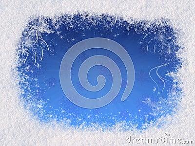 Winter magic frame