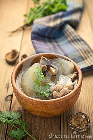Free Winter Melon Soup Royalty Free Stock Photos - 57347748