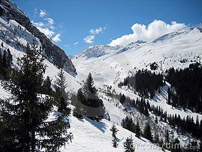 Winter Mountains extreme