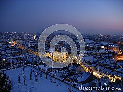 Winter night in Graz