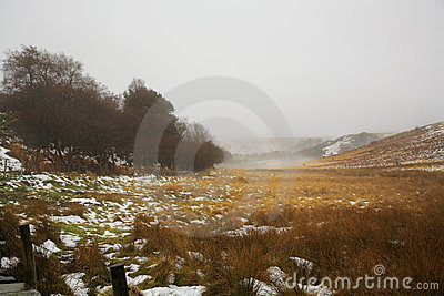 Winter on the North Yorkshire Moors