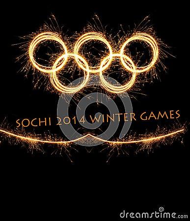 The 2014 Winter Olympiad Sochi Russia Editorial Stock Image