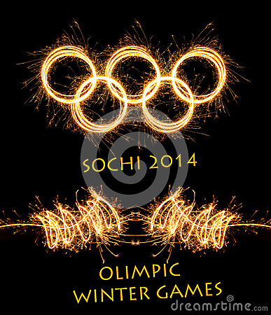 The 2014 Winter Olympiad Sochi Russia Editorial Stock Image