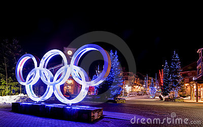 Winter Olympics Editorial Stock Image