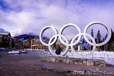 Winter Olympics Editorial Image