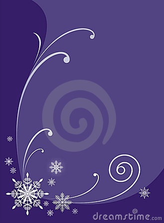 Winter ornament 1