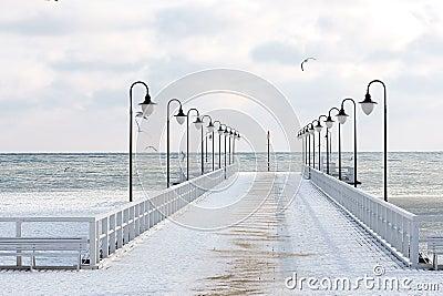 Winter in Orłowo