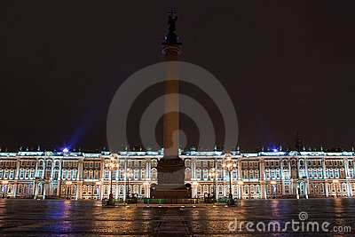 Winter Palace and Alexander Column