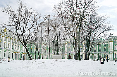 Winter palace. Courtyard