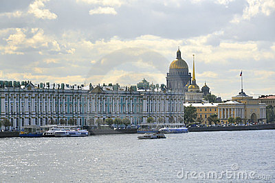 Winter Palace, Hermitage museum in St.Petersburg
