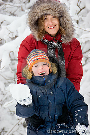Winter. Parenthood