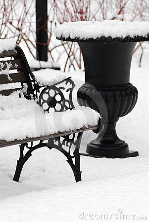 Free Winter Park Stock Image - 3294521