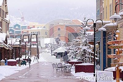 Winter in Park City Utah