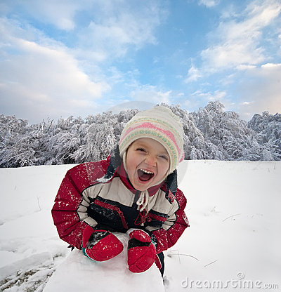 Free Winter Play Stock Photography - 16315462