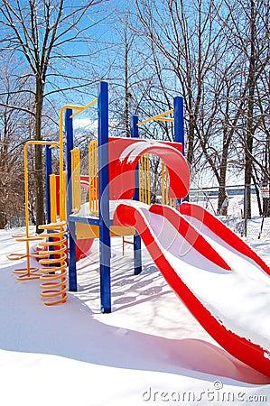 Free Winter Playground Stock Photos - 2070563
