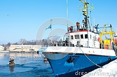 Winter port