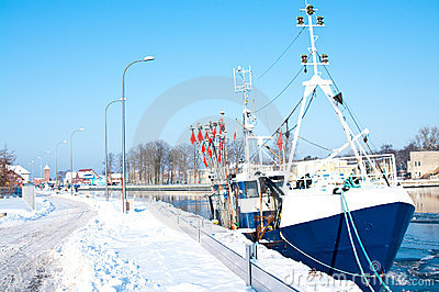Winter port