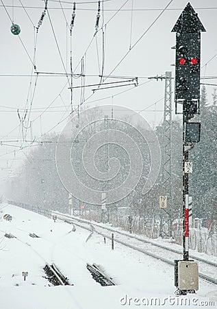Winter Railroad