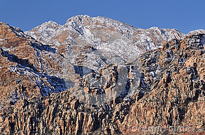 Winter, Red Rock Canyon