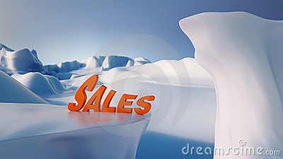 Winter Sales Concept/ Winter Sales Concept/ High q