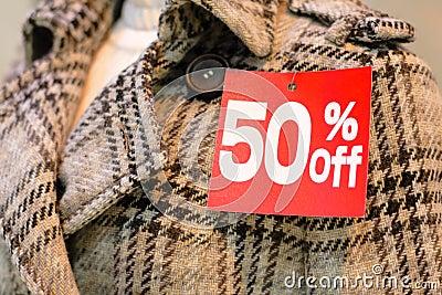 Winter sales season