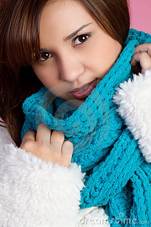 Winter Scarf Girl