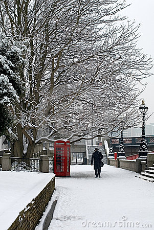 Winter Scene, London, United