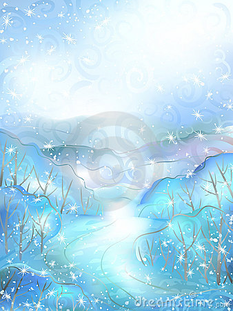 Free Winter Scenery Royalty Free Stock Photos - 17944038