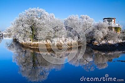 Winter scenery of Limerick
