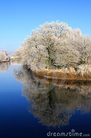 Winter scenery of Limerick