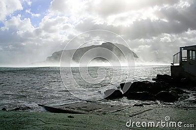 Winter seascape, Palermo