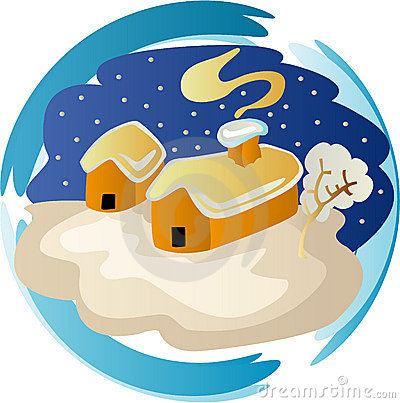 Winter season clipart