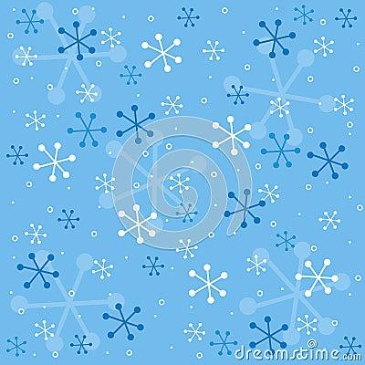 Winter semless pattern