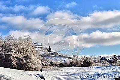 Winter in Sherbrooke
