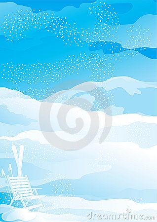 Free Winter Snow Landscape Royalty Free Stock Images - 22338429